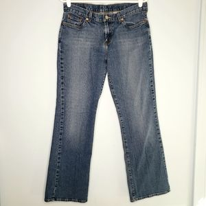 Lucky Brand Mid Rise Flare Jeans